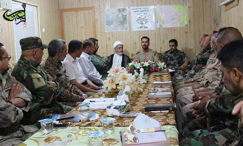 The Leadership of Imam Ali(AS) Brigade Holds its First Meeting After Receiving The Iraqi Prime Minister's Endorsement Of The Official Structure