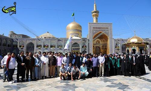 120 English Students and Pupils Attended the Razavi Holy Shrine