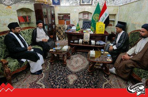 Secretary General of Imam Ali (AS) Holy Shrine received a Shiite delegation from India.