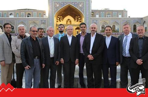 Deputy Minister of Industry of Czech Republic, Visited the Central Museum of Astan Quds Razavi