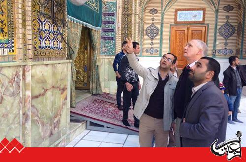 American academic: the shrine of Imam Ali is the best place for peaceful coexistence and unity among all religions and sects of Iraq and the world.