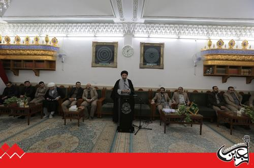 The Secretary General of the Holy Shrine of Imam Ali: We are Determined to Complete all the Houses in Qanbar Complex