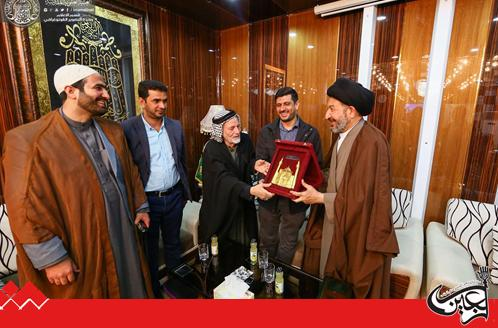 Secretary General of Imam Ali(AS) Holy Shrine receives Iraqi immigrant doctor in Japan.