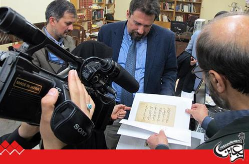 Advisor to the Italian Ambassador in Iran,   Library of Astan Quds Razavi Is the Most Important Cultural Institution in the Middle East