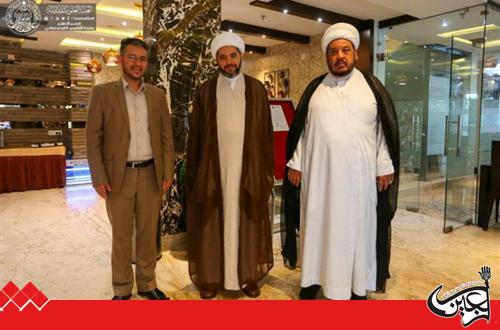 The arrival of the delegation of the holy upper threshold to the city of Kolkata to participate in Amir al-Mu'minin Fifth Annual Cultural Festival.