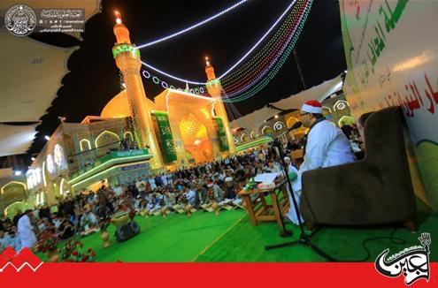 Quranic Assemblies for the elite of Egyptian readers to celebrate the birth of the Mohammedian Moons in Imam Ali(AS) Holy Shrine.